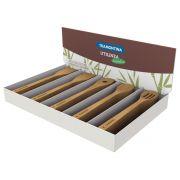 Jogo de Utensílios Tramontina em Bambu Natural 50 Peças 10239/383 | Lojas Estrela