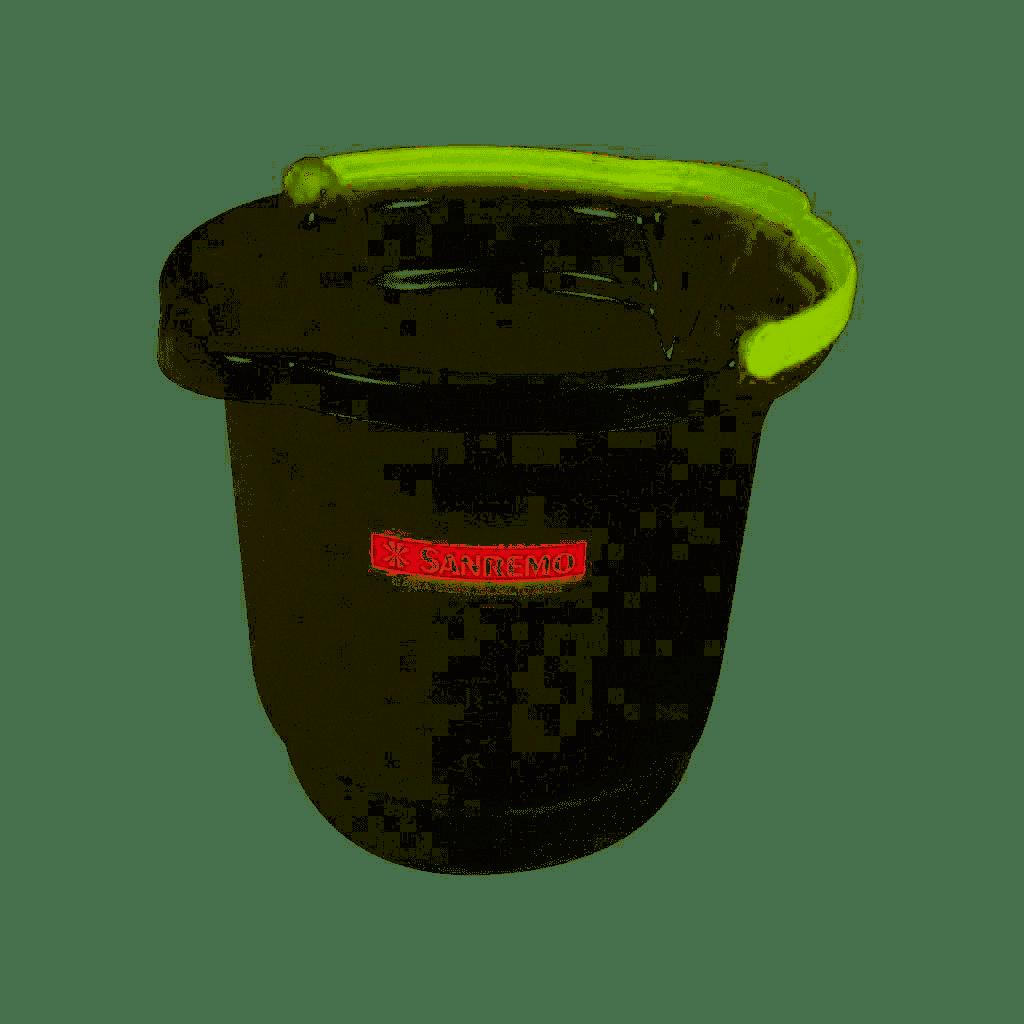 Balde Plástico Sanremo 8,5L Cristal