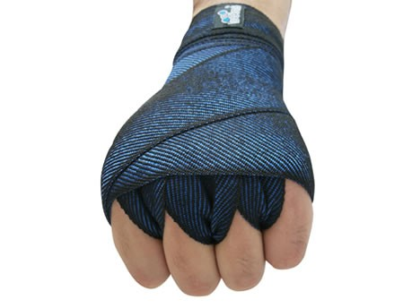 Bandagem elástica azul 4M x 40mm PAR Deveras