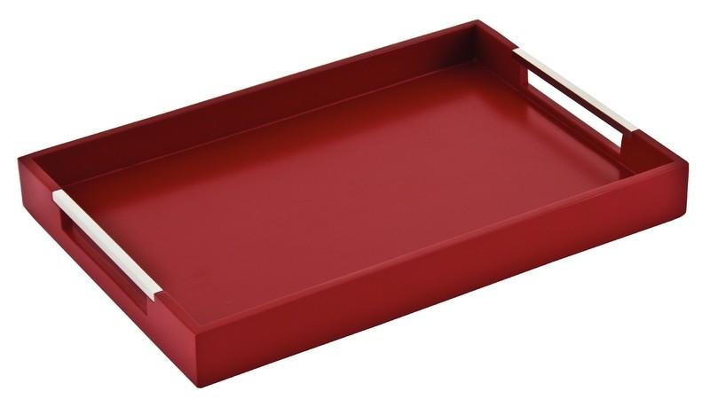 Bandeja Tramontina Retangular Vermelha 10364/367