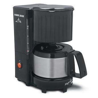 Cafeteira Black Decker 110V 12 cafés com jarra em inox