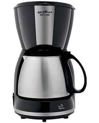 Cafeteira Britânia Inox 15 Temp 110V