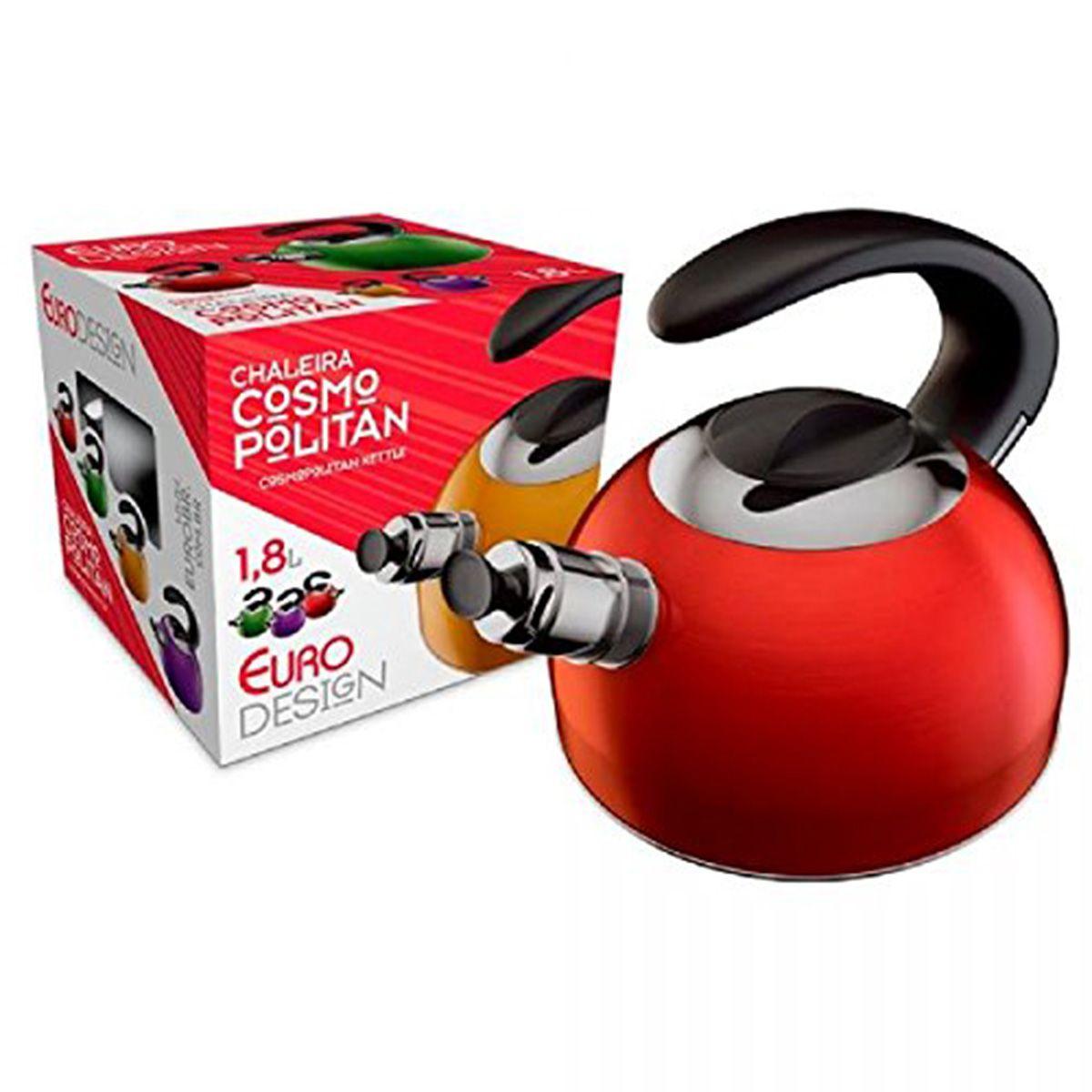 Chaleira Euro 1.8 Lts | Lojas Estrela