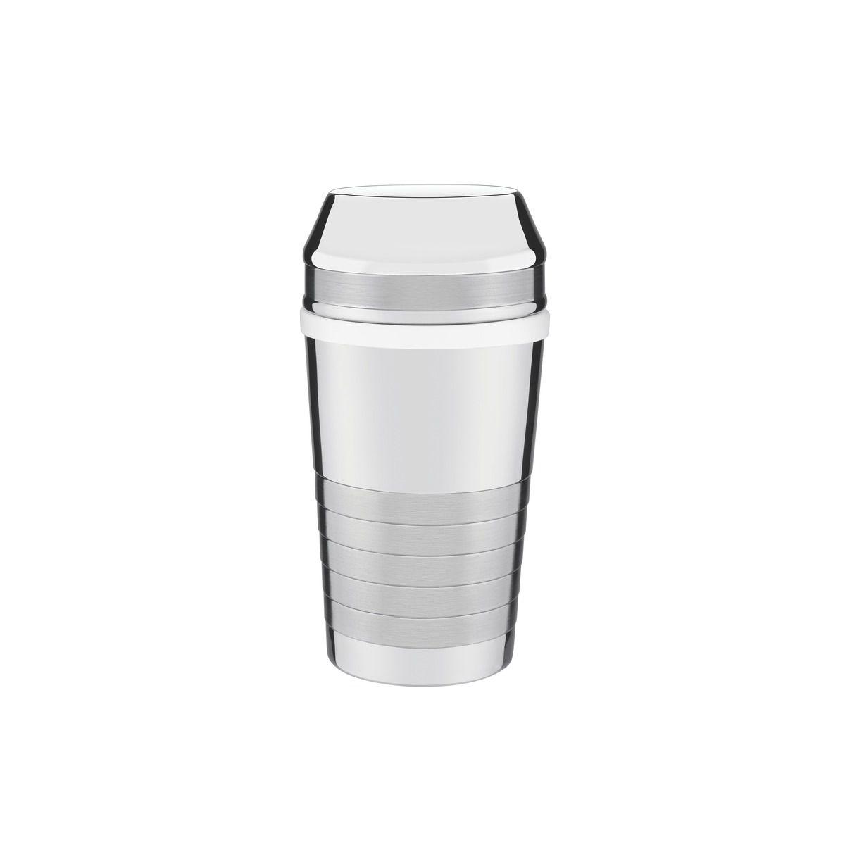 Coqueteleira para Drinks Tramontina em Aço Inox com Detalhes Foscos 680 ml 61346/080 | Lojas Estrela