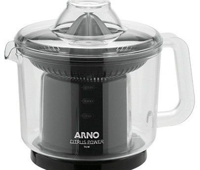 Espremedor de Frutas Arno Citrus 110v Power Preto