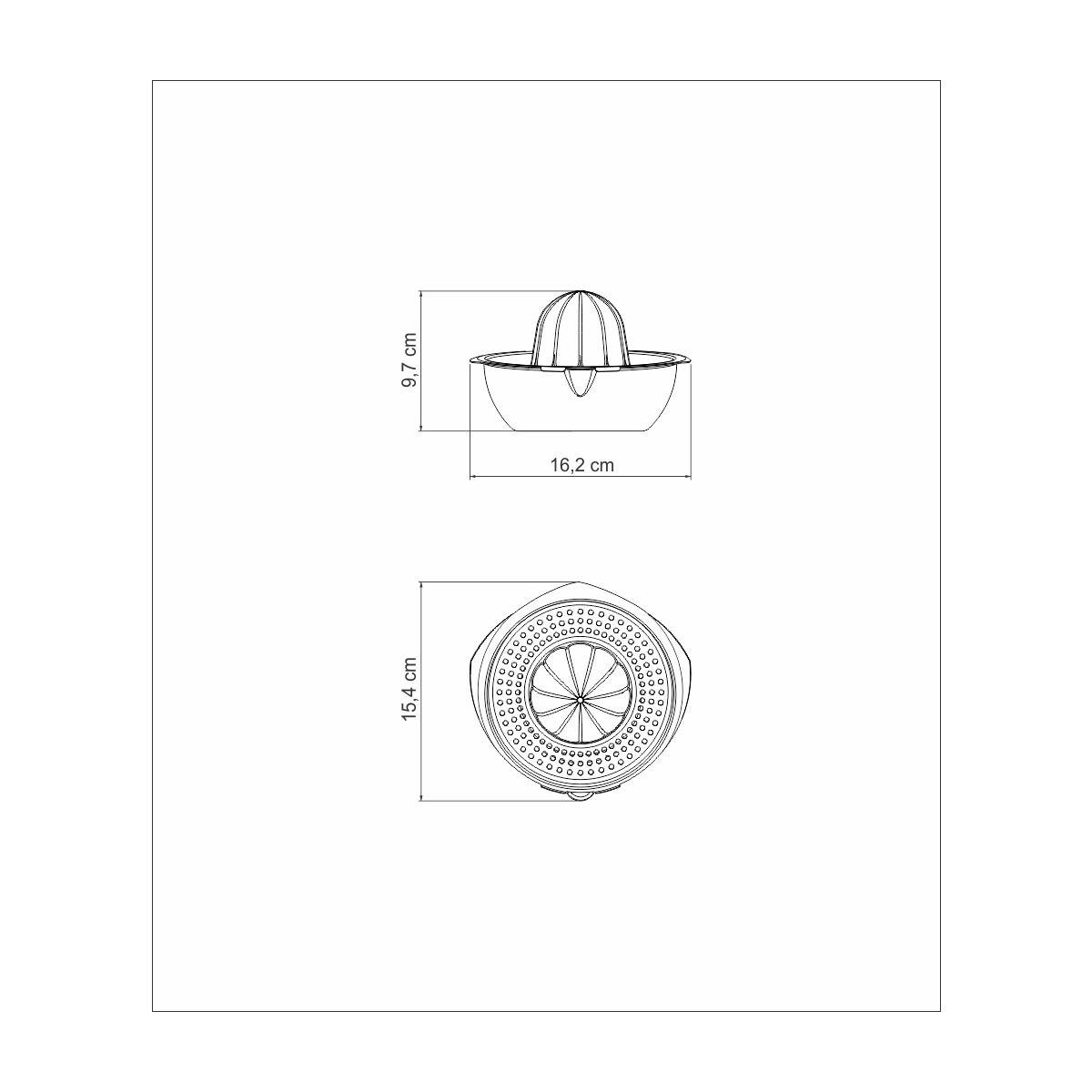 Espremedor de Frutas Tramontina Utility em Aço Inox 61107/140 | Lojas Estrela