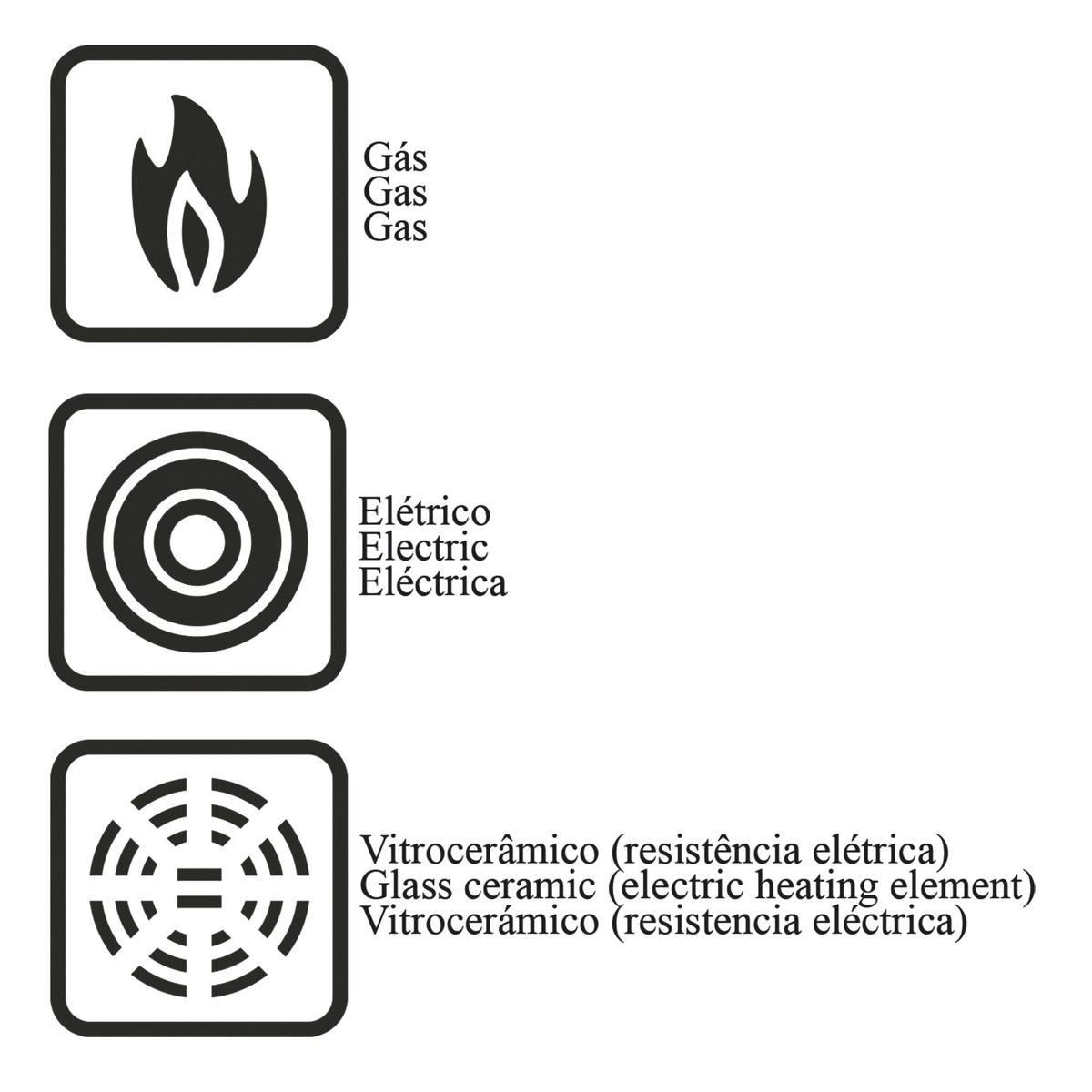 Frigideira funda de alumínio com revestimento interno de antiaderente Ø28cm 20140/728 | Lojas Estrela