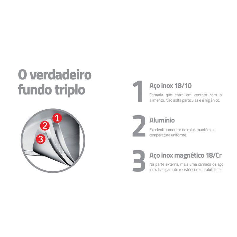 Frigideira Inox Tramontina 62415/240