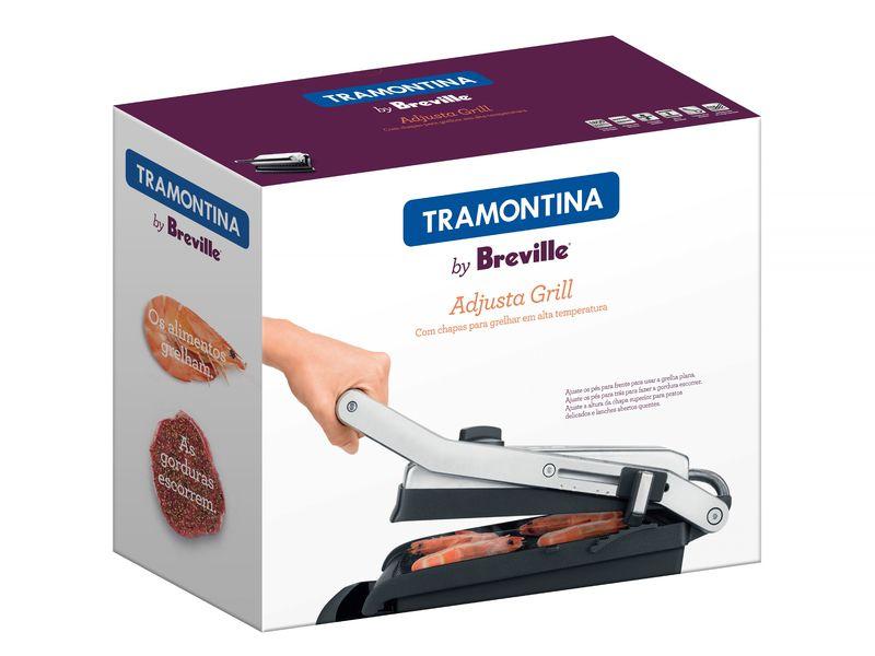 Grill e Sanduicheira 110V Tramontina Adjusta