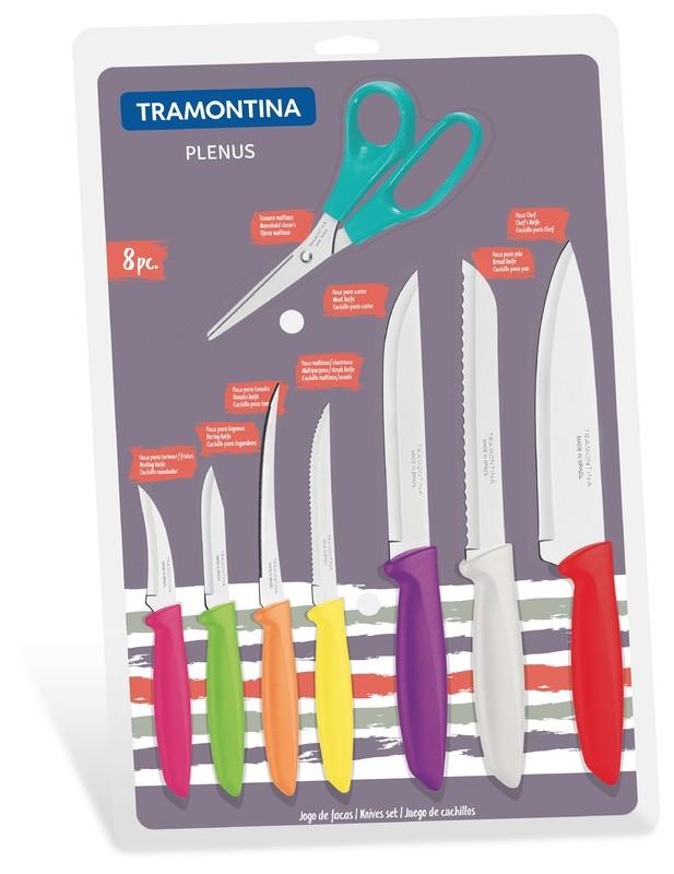 Jogo de Facas Tramontina 8 peças 23498/917