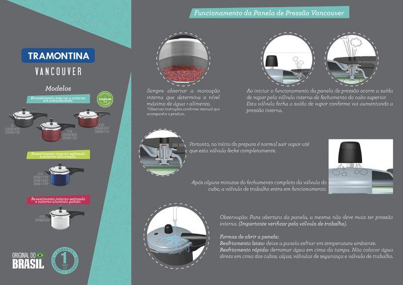 Panela de Pressão Tramontina 20588/624 | Lojas Estrela