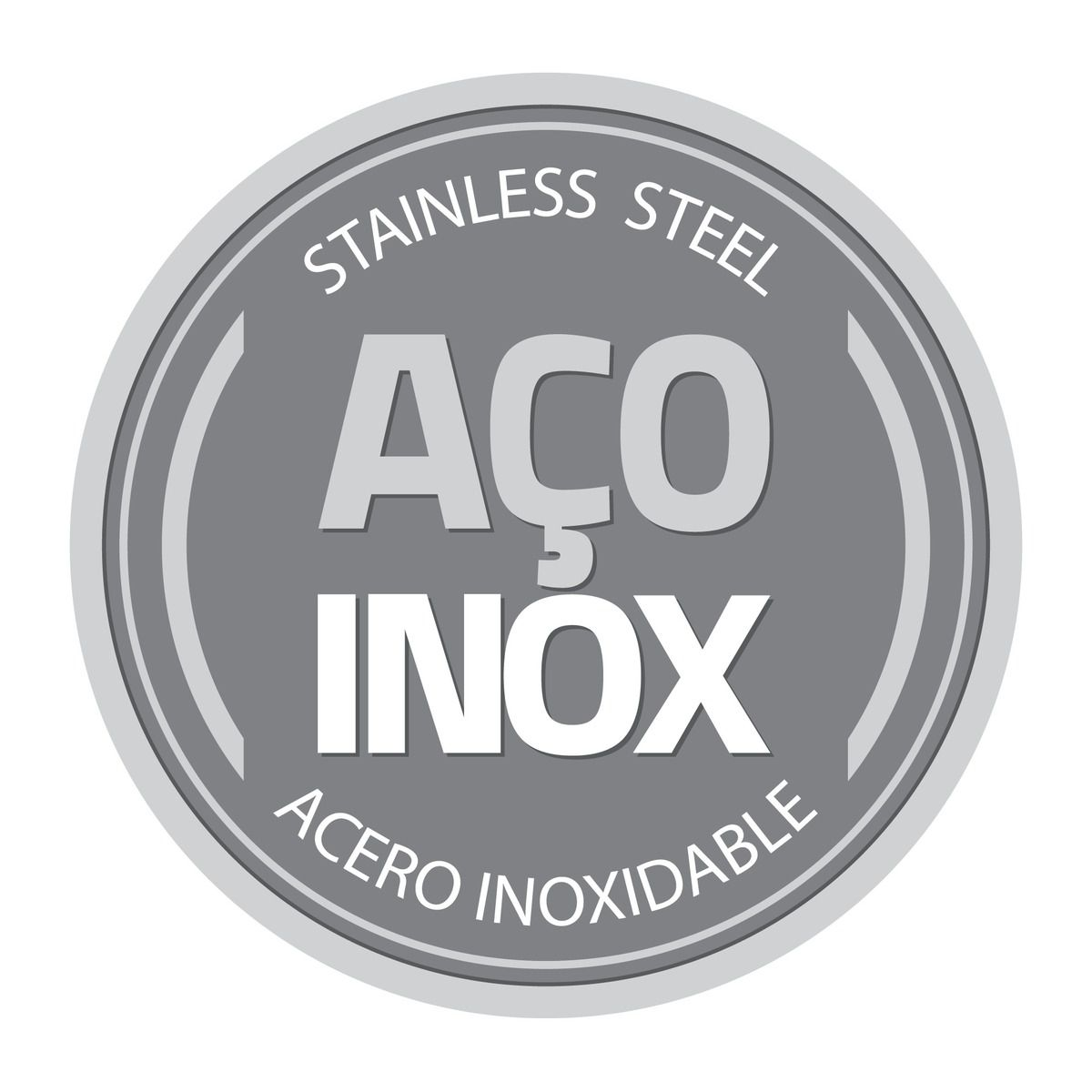 Prato Fundo Tramontina Ciclo em Aço Inox com Tampa de Vidro 30 cm 61528/304 | Lojas Estrela