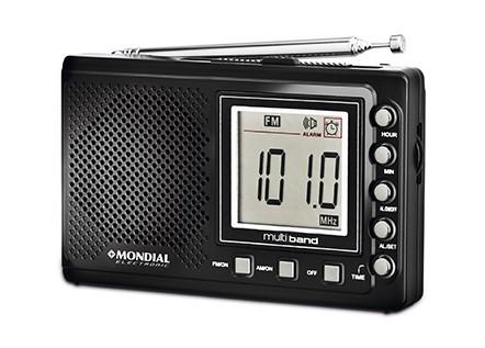Rádio Mondial Portátil Multi Band Bivolt RP-03