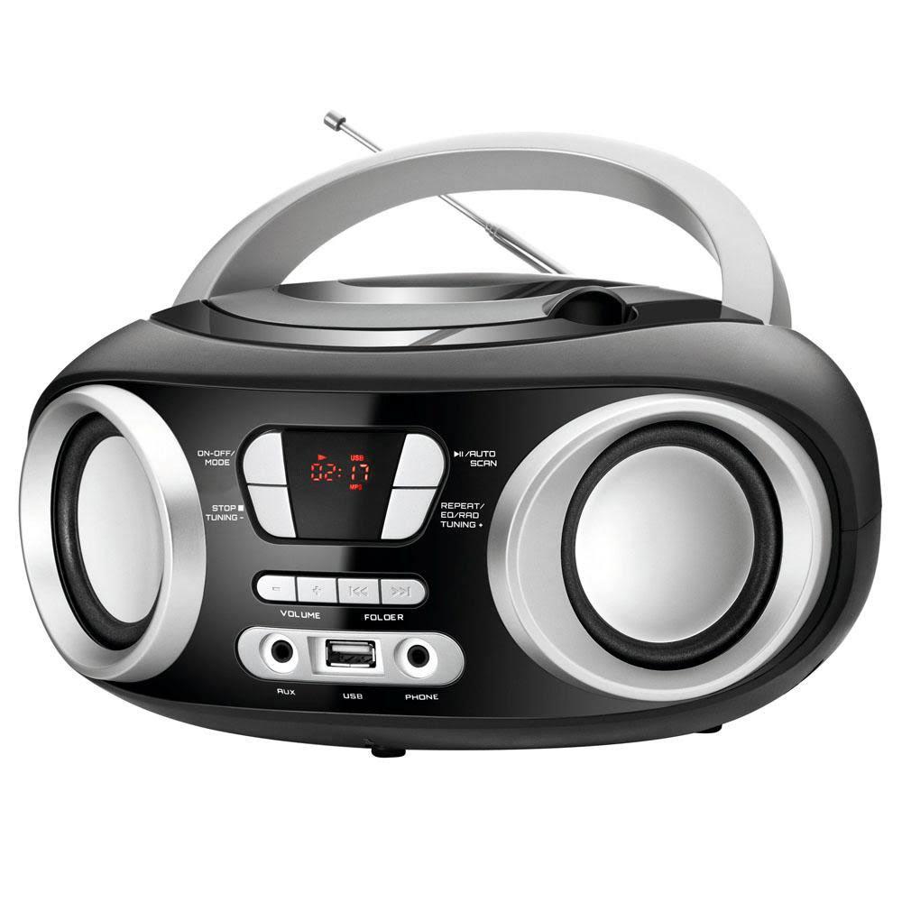 Radio Mondial Portátil Up Bivolt BX-14 Preto