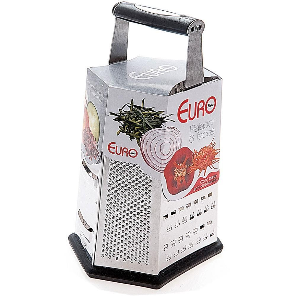 Ralador Euro 6 Faces 23 cm | Lojas Estrela