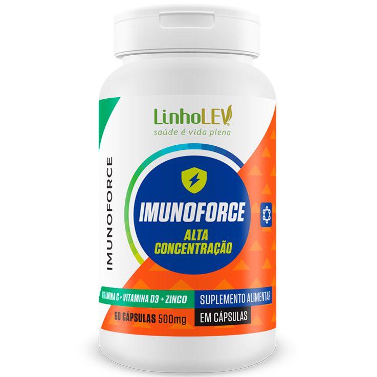 Imunoforce Vitamina C + D3 + Zinco Alta Concentração