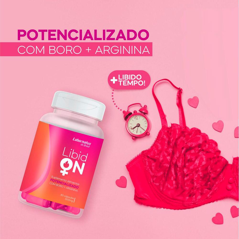 Libid On Potencializador Femenino - Arginina + Boro