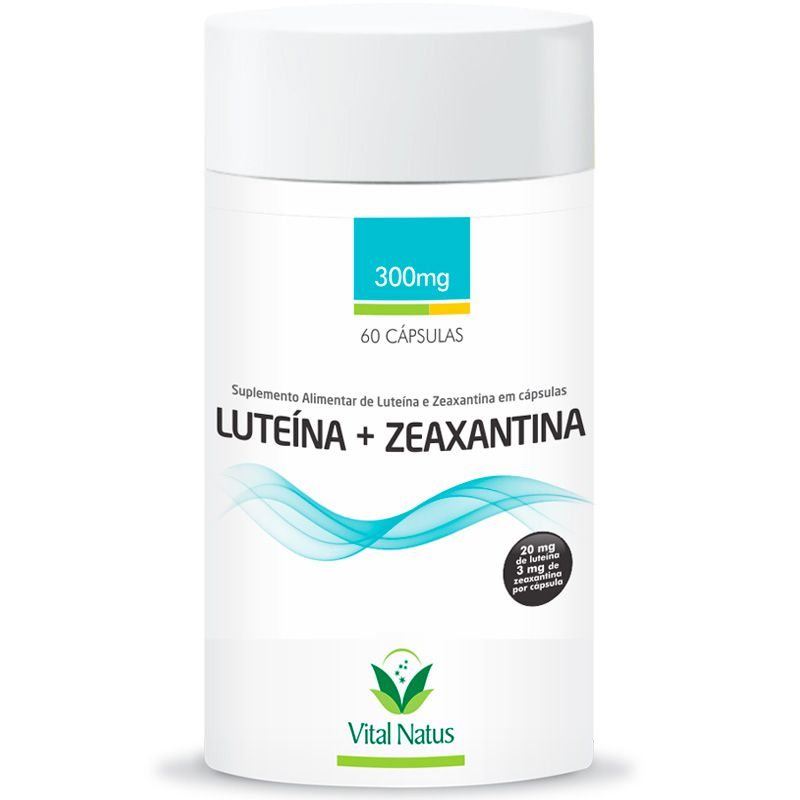 Luteína + Zeaxantina 60 cápsulas