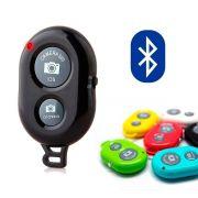 Controle Remoto Disparador Bluetooth Celular Selfie Universal - Preto