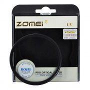 Filtro Protetor Uv Zomei Lente Rosca 72mm Profissional P/ Lentes Sigma 17-70mm F/2.8-4 Dc ou Canon ef 28-135mm F/3.5-5.6 Is Usm