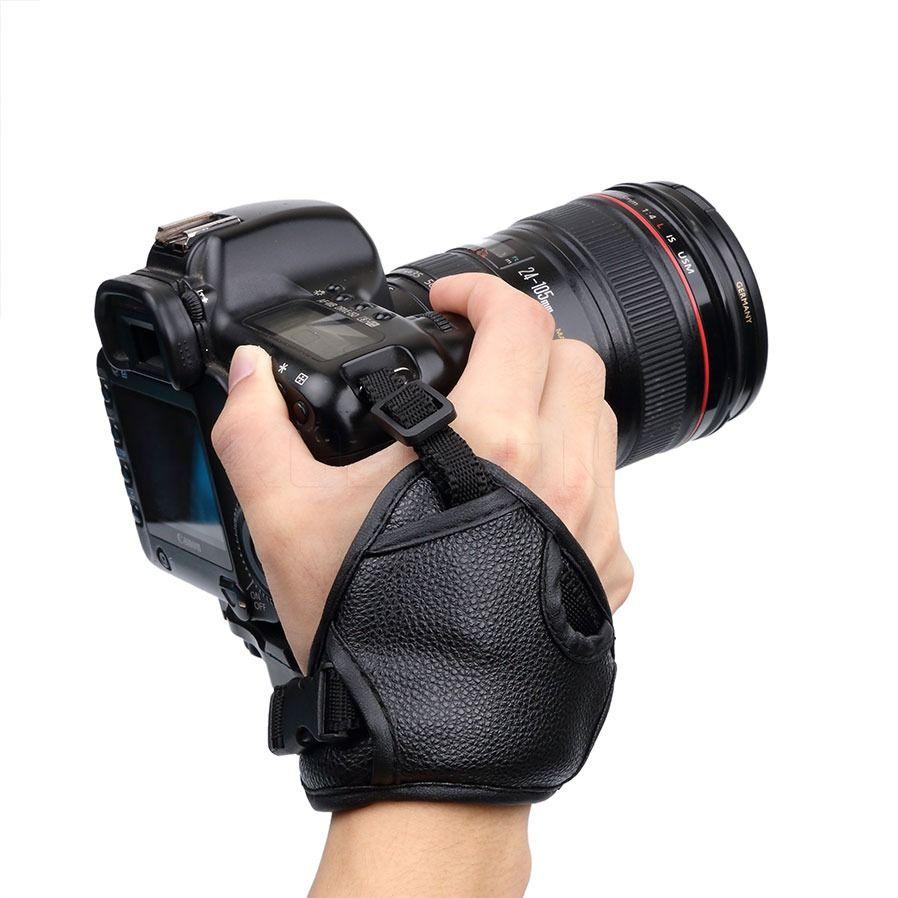 Alça De Mão Triangular Hand Grip Câmera Dslr Nikon Canon etc