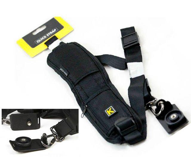 Alça De Ombro Camêra Quick Strap Dsrl Canon Nikon Sony Outras