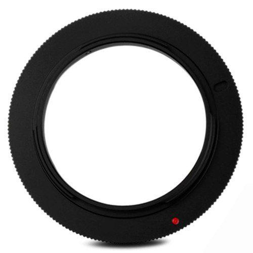 Anel Inversor Lente Macrofotografia Cameras Canon Eos 55mm