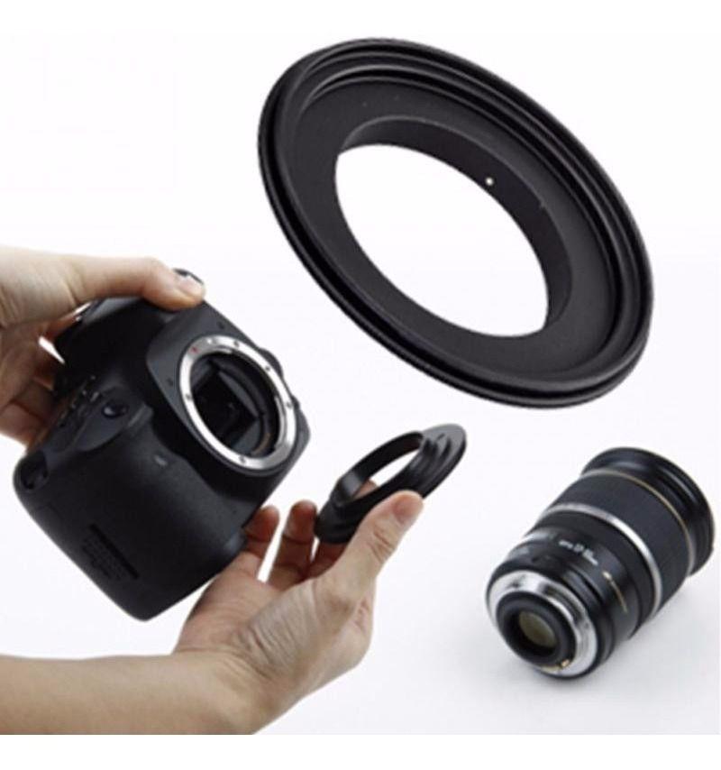 Anel Inversor Lente Macrofotografia Cameras Sony Alpha 58mm