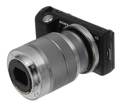 Anel Inversor Macro Fotografia Lente Sony Nex E-mount 55mm