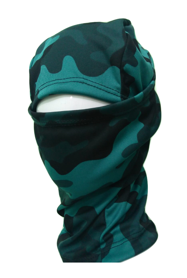 Balaclava Camuflada touca ninja exército militar tática paintball