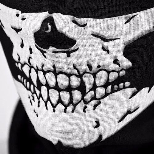 Bandana Balaclava Caveira esqueleto Gola Lenço Tatica Militar PM Moto