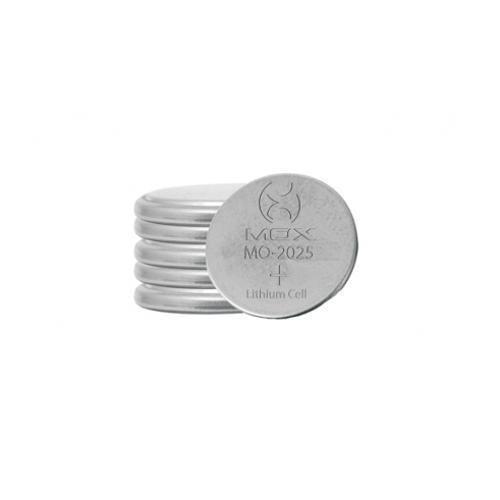 Kit com 4 cartelas completas Bateria De Lítio Botão 3v Cada Cartela Com 5 unidades Mox Mo-cr2025