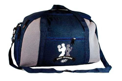 Bolsa Mochila Mala 30L Fitness Academia Musculação Esportiva Porta Tênis Viagens - Azul Marinho