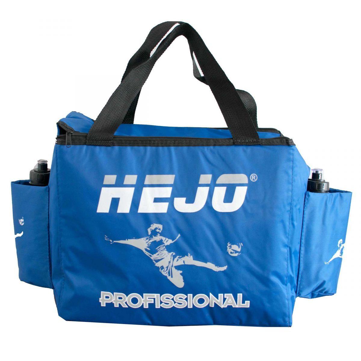 Bolsa Térmica Massagista Modelo Europa Futebol Profissional - Cor Azul Claro