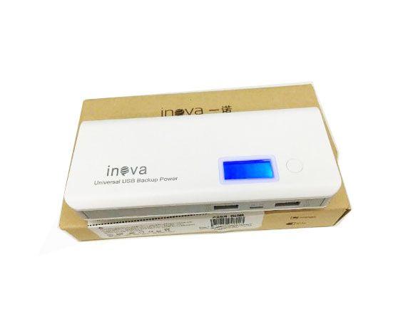 Carregador Powerbank Universal Portátil 10000 Mah Original Inova Pow-1041 - Cinza