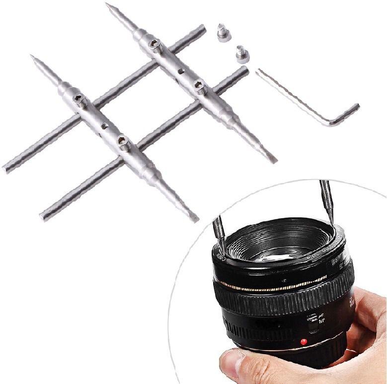 Chave De Manutenção Abertura Lente Objetiva Canon Nikon Sony Fujifilm Telescópio Óptica
