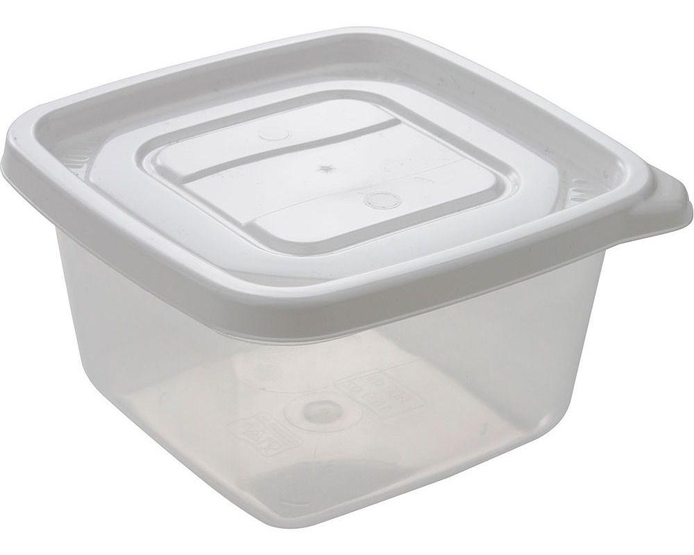 Conjunto 6 Potes Quadrados 500ml Para Freezer Microondas Marmita