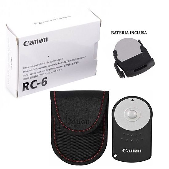 Controle Remoto Rc-6 Original Canon T1i T2i T3i T4i T5i T6i T7i