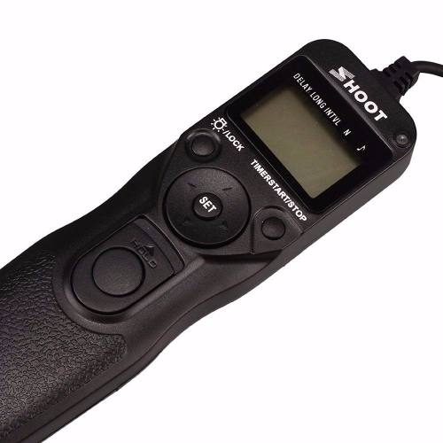 Controle Remoto Time Lapse Mc-dc2 P/ Câmera Dslr Nikon D7100