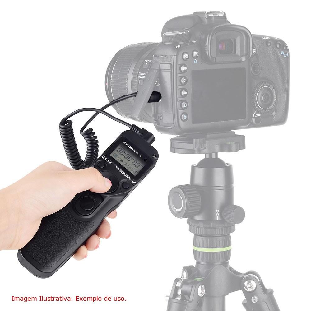 Controle Remoto time lapse RS-60E3 Para Câmera Dslr Canon