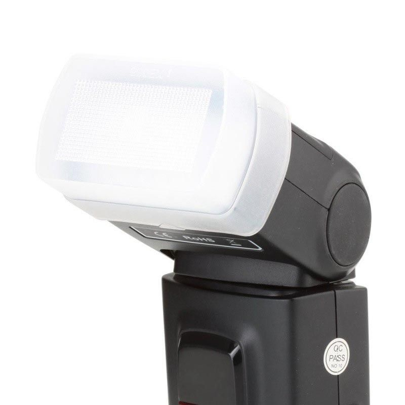 Difusor para flash Canon 580EX, 580EX II, Yongnuo 560, 560 II e outros;