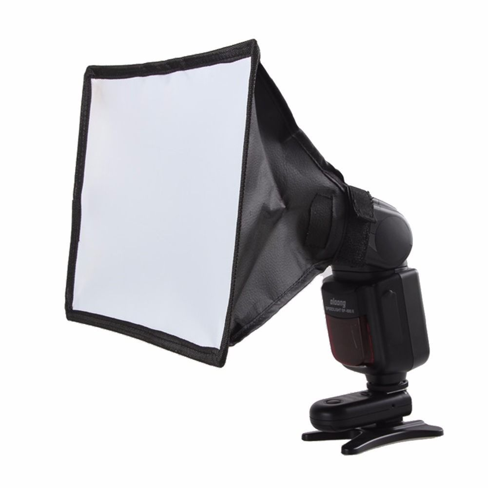 Difusor Softbox Universal 17x15cm + Bolsa P/ Nikon Canon Sony