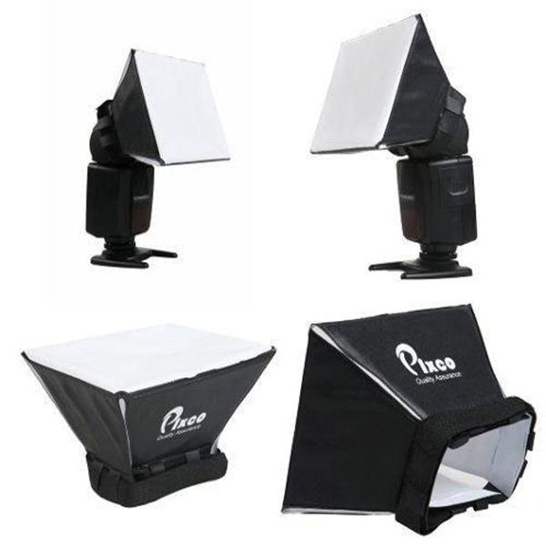 Difusor Universal De Flash Mini Softbox Pixco Canon Nikon