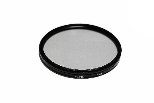 Filtro Cpl circular Polarizador Para Lente Filtro De 62mm + Case