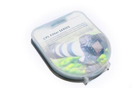 Filtro Cpl circular Polarizador 77mm P/ Lentes Nikon 24-120mm F/3.5-5.6 G Af ou Canon Ef 24-70mm F/2.8 L + Case