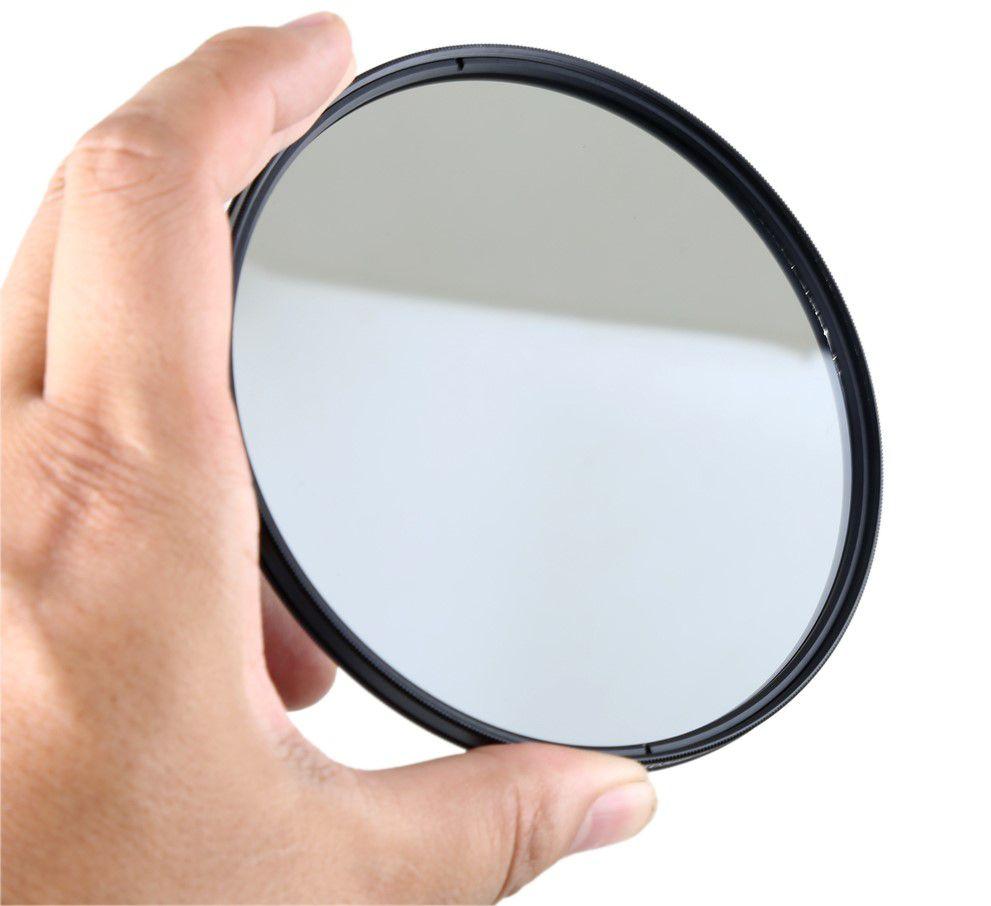 Filtro Cpl circular Polarizador Para Lente Filtro De 95mm + Case