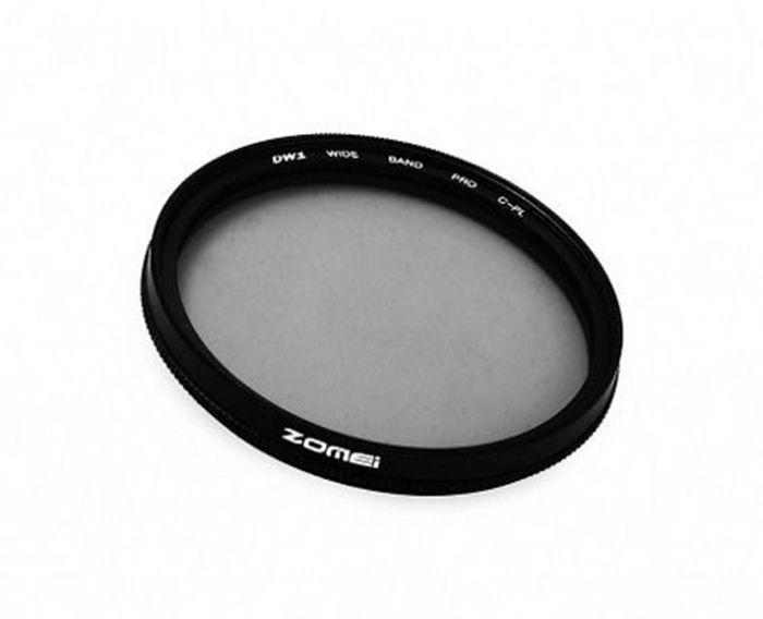 Filtro CPL Polarizador Zomei rosca 49mm P/ Lentes Canon 50mm 1.8 STM ou Sony E 18-55mm F/3.5-5.6 Oss