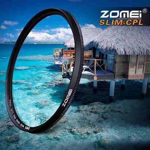 Filtro CPL Polarizador Zomei rosca 67mm P/ Lente Nikon Af Zoom-nikkor 24-85mm F/2.8-4d