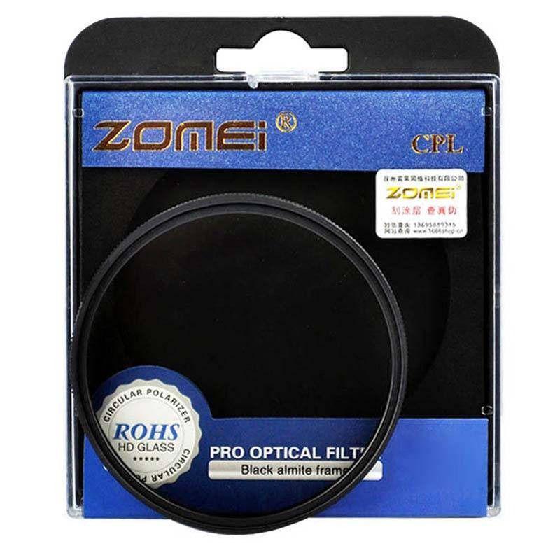Filtro CPL Polarizador Zomei rosca 82mm P/ Lente Sigma 24-70mm F/2.8