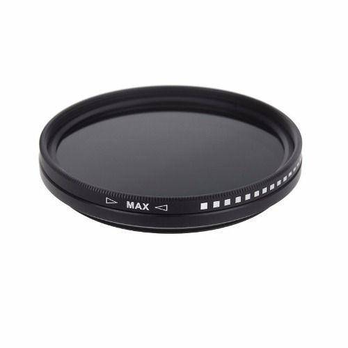 Filtro Nd Variável Lente Nikon 70-200mm Nd2 Até Nd400 62mm + Case